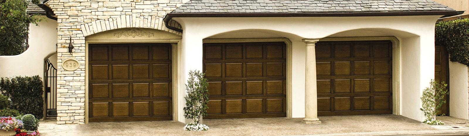 wood garage door model 300